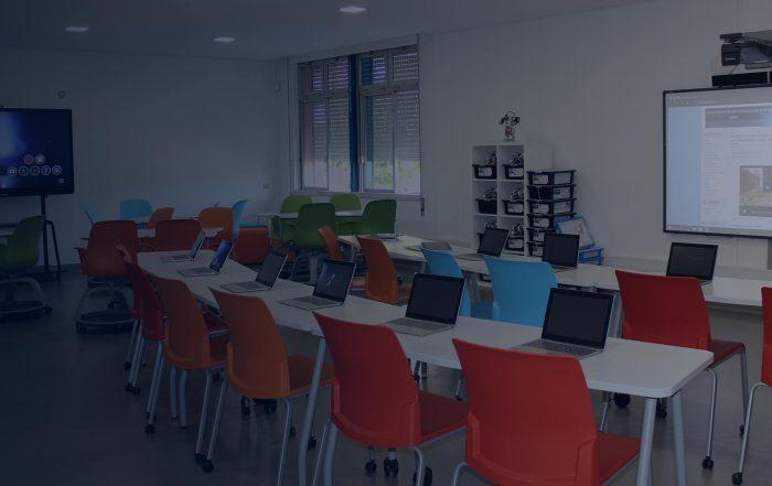 A Sala de Aula do Futuro da Escola de Paredes