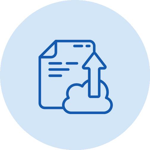 APPs Xerox - Icone Upload Documento